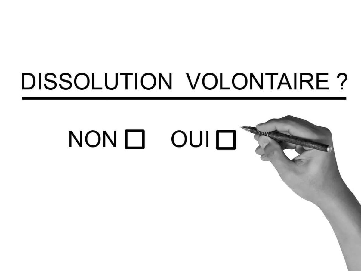 La dissolution d'une SAS par décision volontaire